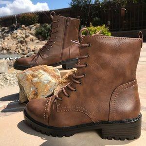 Kamryn Brown Combat Boots